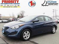The certified pre-owned 2015 Hyundai Elantra in