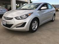 Options:  2015 Hyundai Elantra Se|You Have Been