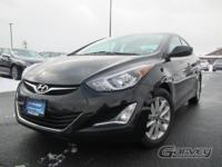 The 2015 Hyundai Elantra is powered by a 145-hp