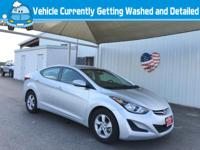 Step into the 2015 Hyundai Elantra! It comes equipped