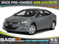 Climb inside the 2015 Hyundai Elantra! You'll
