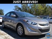 This Elantra features: Bluetooth, 16 Alloy Wheels, 4.3