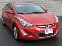 2015 Hyundai Elantra SE Certified. Odometer is 28208