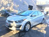 Come see this 2015 Hyundai Elantra SE. Its Automatic