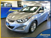 This 1-Owner Hyundai Elantra has low miles and comes
