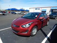We are excited to offer this 2015 Hyundai Elantra. How
