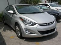 Bluetooth and No accidents Clean Carfax. Elantra SE,