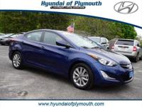 Hyundai Certified. SE trim. EPA 38 MPG Hwy/28 MPG City!