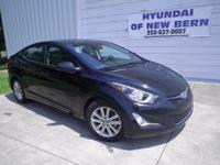 Hyundai Certified, 15 Alloy Wheels, ABS brakes,