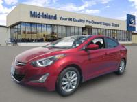 This 2015 Hyundai Elantra SE is Priced Below The