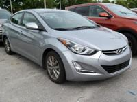 Options:  2015 Hyundai Elantra|Gray|Front Bucket