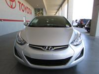 Options:  2015 Hyundai Elantra Se|Se 4Dr Sedan|Epa 38