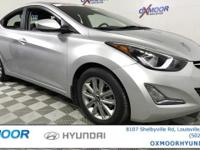 Hyundai Elantra SE CARFAX One-Owner. ALLOY WHEELS, REAR