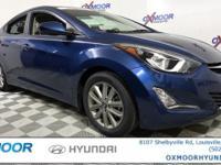 Hyundai Elantra SE CARFAX One-Owner. Clean Carfax - 1