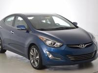 Recent Arrival! Hyundai Elantra Limited Awards:   *