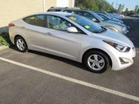 Look at this 2015 Elantra!! Fully serviced with new