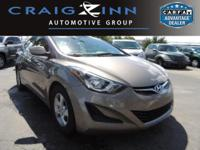 New Arrival! This 2015 Hyundai Elantra 2 will sell fast