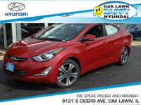 This 2015Hyundai ELANTRA Sport will sell fast!! SAVE