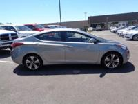 2015 Titanium Gray Hyundai Elantra Sport Details:  *