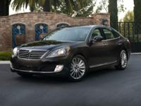 Recent Arrival! Certified. 2015 Hyundai Equus Ultimate