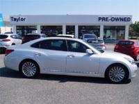 Certified Vehicle! LOW MILES, This 2015 Hyundai Equus