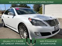 This 2015 Hyundai Equus 4dr VERY BEAUTIFUL LUXURY EQUUS