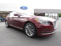 Used 2015 Hyundai Genesis 3.8 RWD 8-Speed Automatic