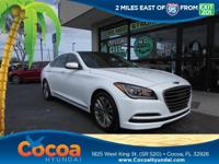 This 2015 Hyundai Genesis 3.8 in White features: Clean
