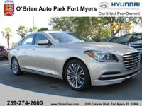 This outstanding example of a 2015 Hyundai Genesis 3.8L
