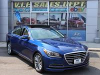 2015 Hyundai Genesis 3.8 AWD 8-Speed Automatic with