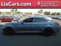 2015 Hyundai Genesis in Gray. Leather. Why pay more for
