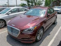 2015 Genesis 3.8 4dr Rear-wheel Drive Sedan Hyundai At