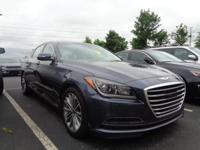 Options:  2015 Hyundai Genesis 4Dr Sdn V6 3.8L