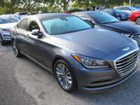 Clean CARFAX. Certified. Empire State Gray 2015 Hyundai