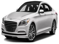 Options:  2015 Hyundai Genesis 3.8|For Internet Pricing