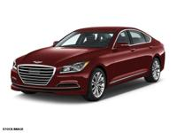 Options:  2015 Hyundai Genesis 3.8L|3.8L 4Dr