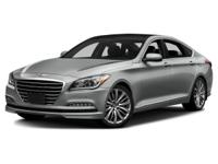 2015 Hyundai Genesis Gray Certified. Clean CARFAX.