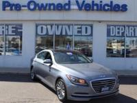 This 2015 Hyundai Genesis 3.8L * ONE OWNER is offered