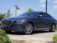 2015 Hyundai Genesis 5.0 in Montecito Blue, This