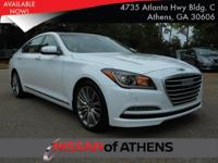 Check out this 2015 Hyundai Genesis 5.0L. Its Automatic