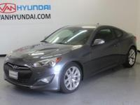 Clean CARFAX. 2015 Hyundai Genesis Coupe Priced below