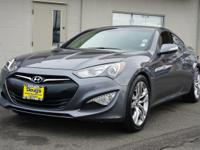Gray 2015 Hyundai Genesis Coupe 3.8 Ultimate RWD