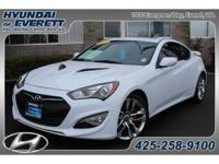 Certified Pre-Owned!! Loaded Genesis Coupe 3.8