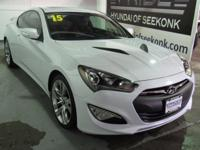 Rare 3.8 liter 6 cylinder in this Genesis Coupe, with
