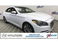 New Price! Hyundai Genesis 3.8 CARFAX One-Owner. Clean