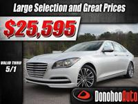 Come see this 2015 Hyundai Genesis 3.8L before it's too