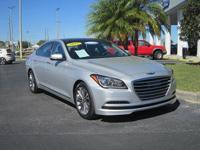Certified Pre Owned 2015 Hyundai Genesis 3.8 with Tech