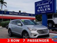 Options:  2015 Hyundai Santa Fe|Silver|Silver 2015