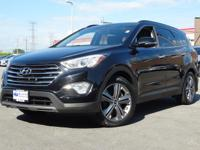 Certified. 2015 Hyundai Santa Fe Becketts Black GLS