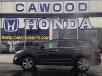 Options:  2015 Hyundai Santa Fe Gls|Black|Awd|V6